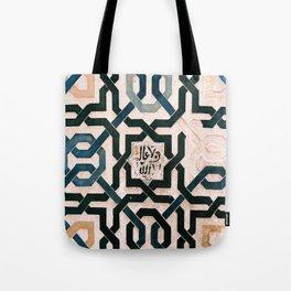 Alhambra Tiles. Tote Bag