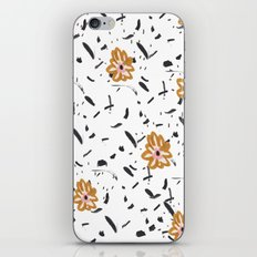 Daisy. Illustration, flowers, print, design, pattern, floral, fashion, drawing, iPhone & iPod Skin