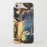 volkswagon iPhone & iPod Cases featuring Bug Life by sysneye
