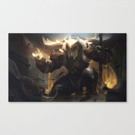 Arclight Yorick League Of Legends Canvas Print