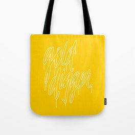 Golddigger Tote Bag