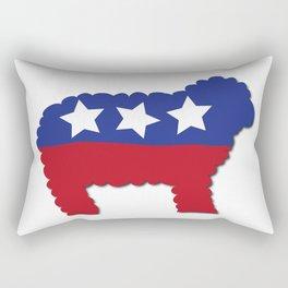 Funny (US) Political Sheep   Rectangular Pillow