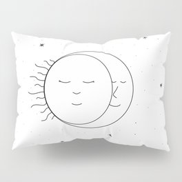 The Moon and Sun are One Pillow Sham