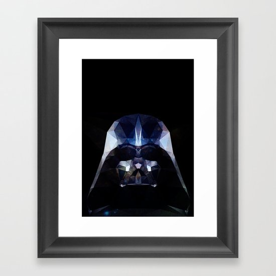 DARTH VADAR Framed Art Print