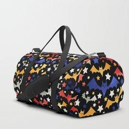 Halloween Bat Pattern Duffle Bag