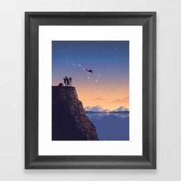 The Big Tripper Framed Art Print