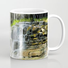 Misty Fountain Waterfall Coffee Mug