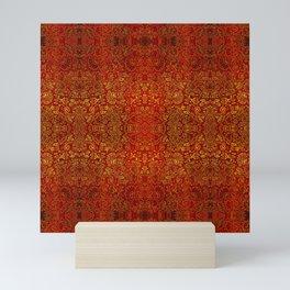 Abstract rustic sparkle beautiful samples Mini Art Print
