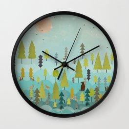 goodnight little sunshine Wall Clock