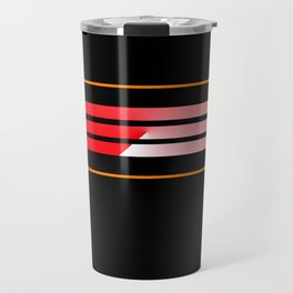 Team Colors 5...Red,orange Travel Mug