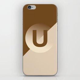 Umber - U iPhone Skin