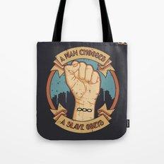 Bioshock a man, a slave Tote Bag