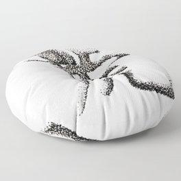 The Zodiac 12 - Tiger Floor Pillow