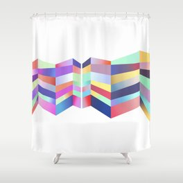 Impossible No. 2 Shower Curtain