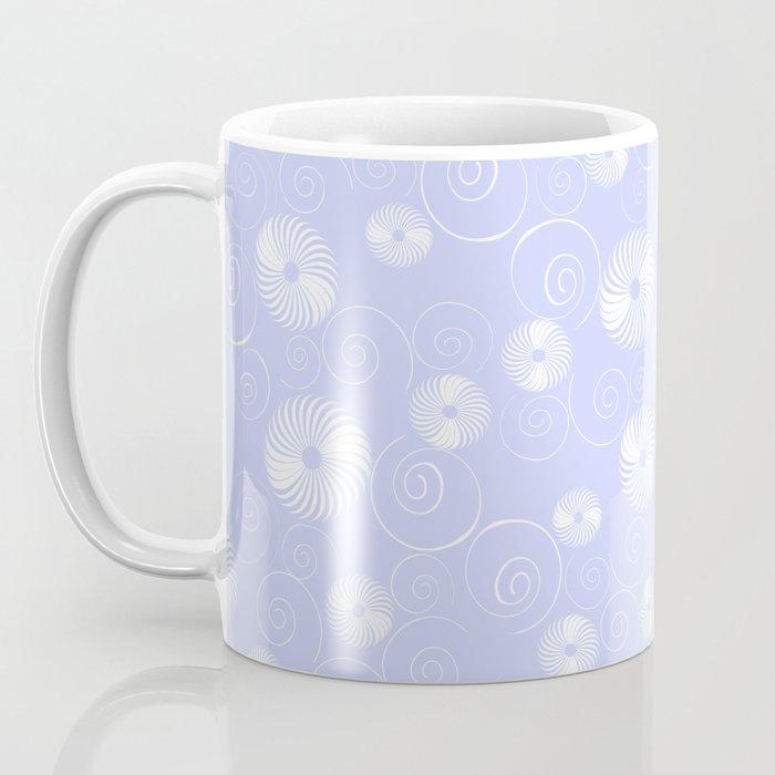 White Spirals Coffee Mug