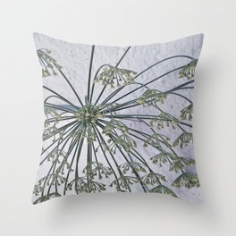 lets hang down Throw Pillow