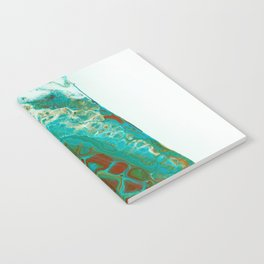 Green abstract Notebook