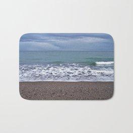 Foam on the Beach Bath Mat