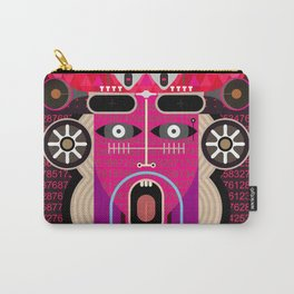 Abstract Graphic Art Carry-All Pouch