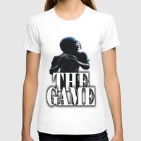 football T-shirts featuring FOOTBALL  by Robleedesigns