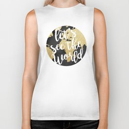 Let's See The World Biker Tank
