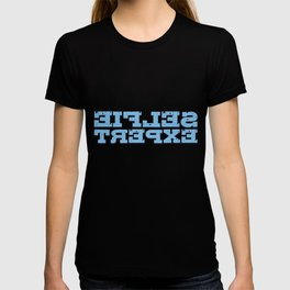 Selfie Expert Mirrored Influencer Mirror T-shirt