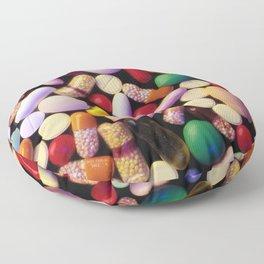 Pills Pills Pills Floor Pillow