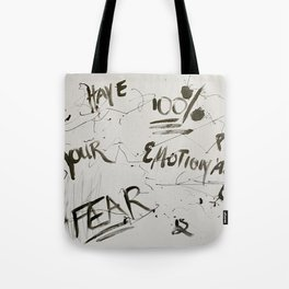 Fear is Fake Tote Bag