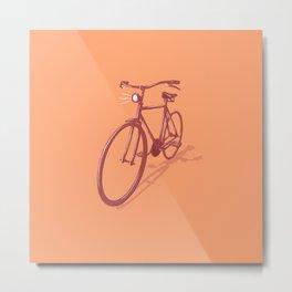City Cruiser Bike Metal Print