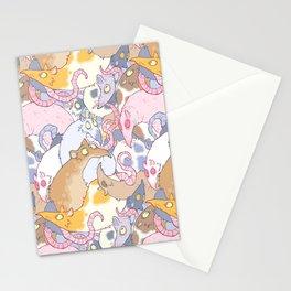 Fancy Rat Pattern Stationery Cards