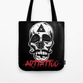 Skull Arttattoo Tote Bag