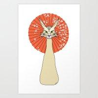 Felidae light Art Print