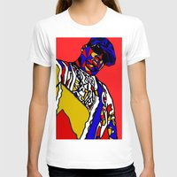 biggie T-shirts featuring BIGGIE by Fake Wealth