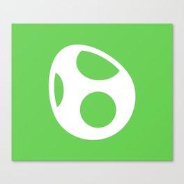 Green Egg Canvas Print