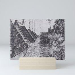 Street in Saintes-Maries Mini Art Print