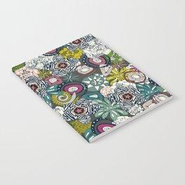 succulents multi dark Notebook