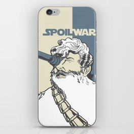 Spoil Wars iPhone Skin