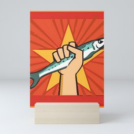 Fish Power Mini Art Print