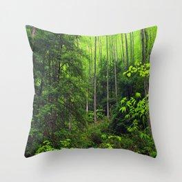 Forest Hill Throw Pillow