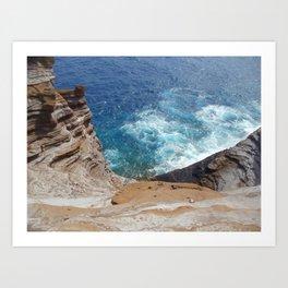 Secret Beach Art Print