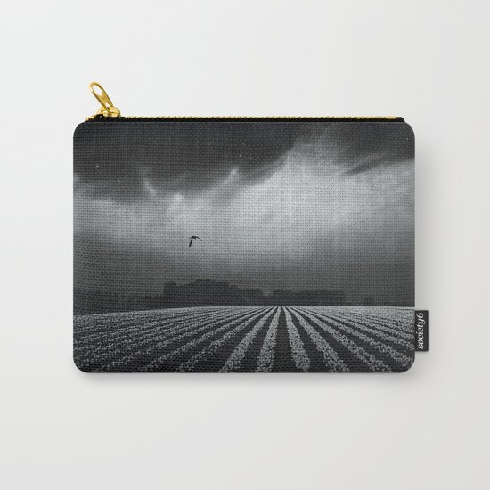 BlacK SprinG Carry-All Pouch