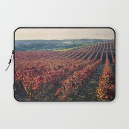 Autumnal vineyards in the Alentejo, Portugal Laptop Sleeve