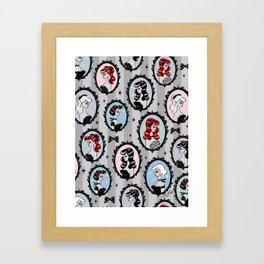 Cameo Dolls Framed Art Print