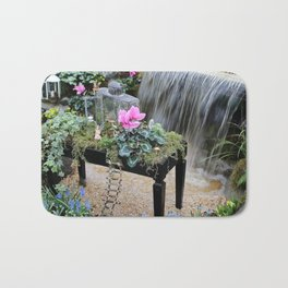The fairy garden bench Bath Mat