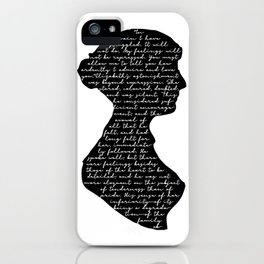 Mr Darcy Proposal iPhone Case