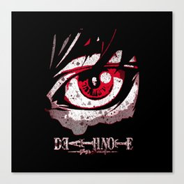The DeathNote Canvas Print