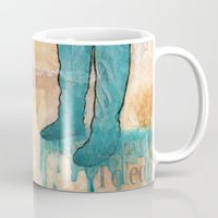 will graham Mugs featuring GRAHAM CRACKERS by RAGING BUNNIES