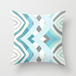Abstract V Throw Pillow