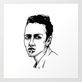 Joe Strummer Art Print