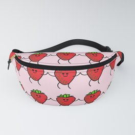 Happy Strawberries Fanny Pack